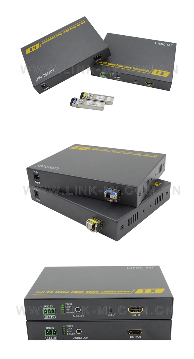 LINK-MI LM-THF109H HDMI-D Uncompressed Video Fiber Optic